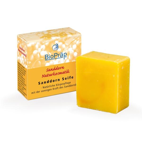 Sanddorn Seife. Milde Reinigung und zarte Haut.100g