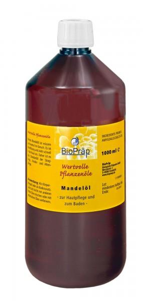 Reines Mandelöl, raffiniert. Der Klassiker in der Hautpflege, 1 Liter