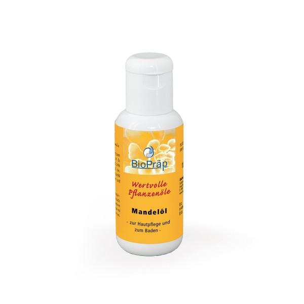 Reines Mandelöl, raffiniert. Der Klassiker in der Hautpflege, 100 ml in der PE-Flasche