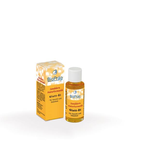 Glattöl - Kostbares Hautöl mit Sanddorn, 15 mL