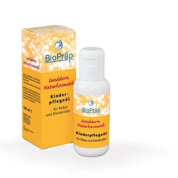 Kinderpflegeöl mit Sanddorn, 100 ml