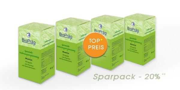 Sparpack -20%: Mumijo Kapseln, mit Vitaminen & Spurenelemen, 4 x 90 Stück.