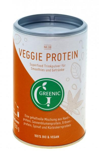 Superfood Veggie Protein. Vegane BIO-Trinkpulver-Mischung, 150 g