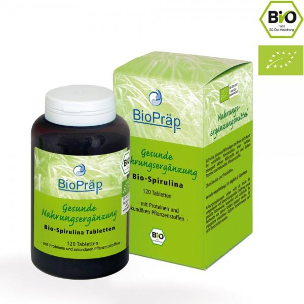 BIO-Spirulina Tabletten, 120 Stück